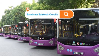 Balıkesir Bandırma Belediye Otobüs Saatleri