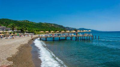Assos Sahili ve Assos Plajları