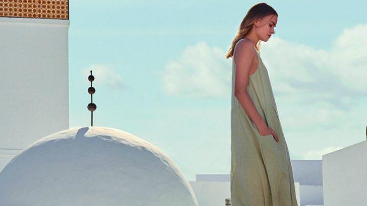 Uzun Kollu Elbise Tasarımları